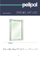 catalog illustration Spiegel mit LED